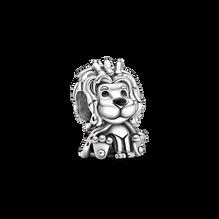 Wavy Union Jack Lion Charm