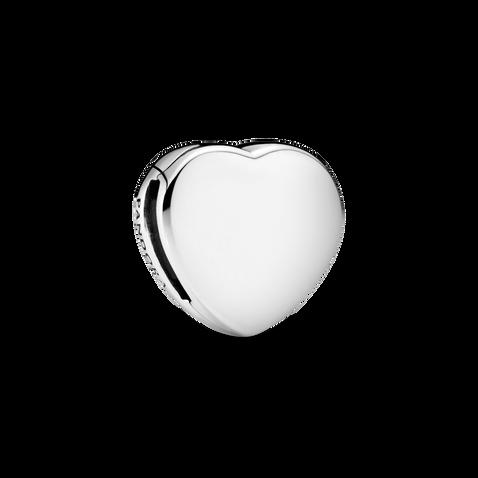 Simple Heart Clip Charm