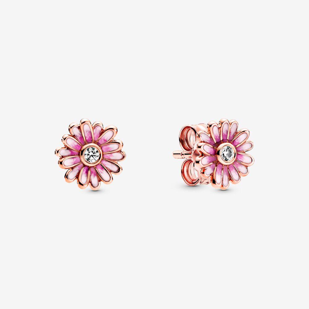 5. 粉紅雛菊針式耳環 HK$599.00