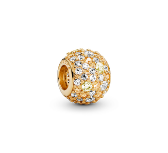 Golden Pavé Charm