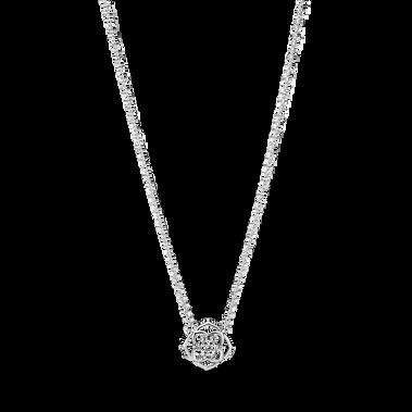 玫瑰花瓣短項鏈