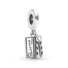 Movie Clapperboard Dangle Charm