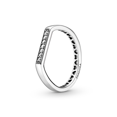 Sparkling bar stacking ring