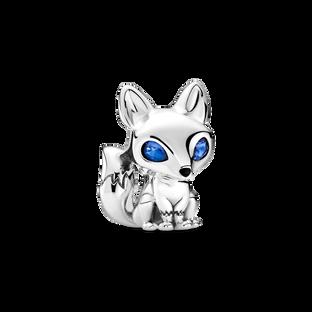藍眼狐狸串飾