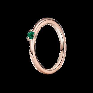 綠色單石戒指