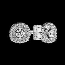 雙重光環針式耳環