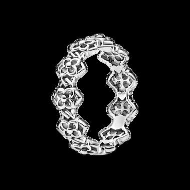 Rose Petals Band Ring