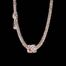Pink & Clear Sparkle Necklace Set