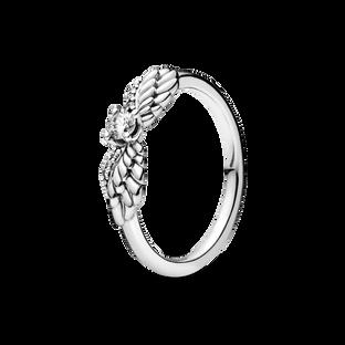 璀璨天使之翼戒指