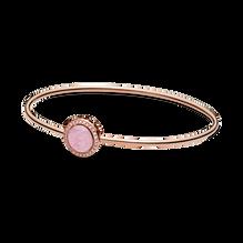 粉紅旋紋手鐲