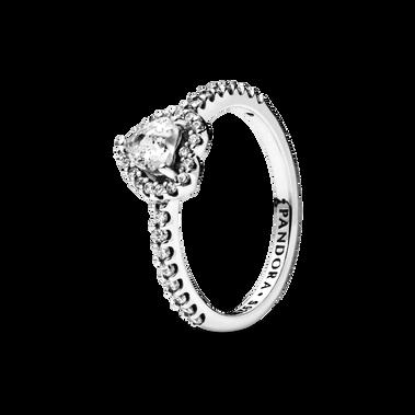 鮮明之心戒指