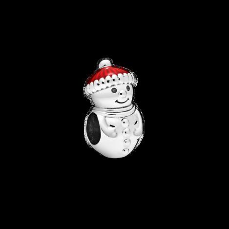 Snowman and Santa Hat Charm