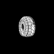 密鑲寶石蛇鏈紋固定夾