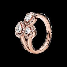 Geometric Shapes Open Ring