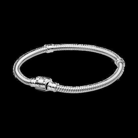Pandora Moments 圓桶扣蛇形手鏈