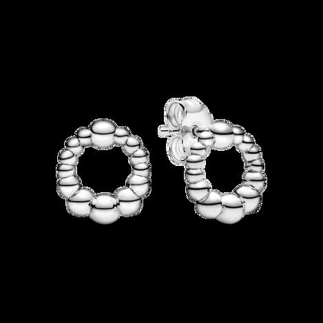 圓珠針式耳環