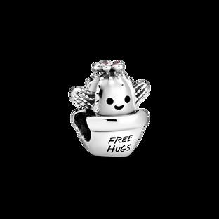 「Free Hugs」仙人掌串飾