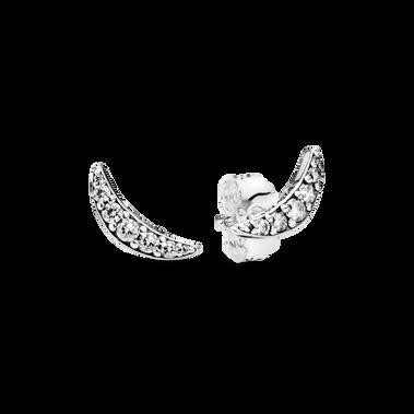 璀璨新月耳環