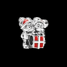 迪士尼米奇老鼠與米妮老鼠禮物串飾