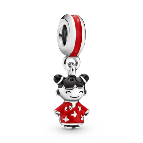 Chinese Doll Dangle Charm