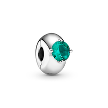 綠色圓形單石固定夾