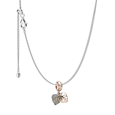 Sparking Leaves Necklace Set