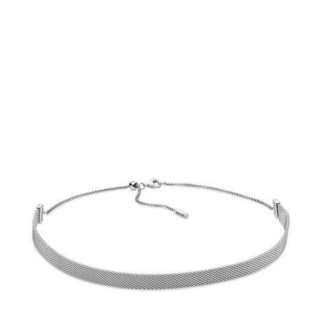 Pandora Reflexions Mesh Choker Necklace