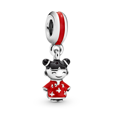 Chinese Doll Dangle Charm