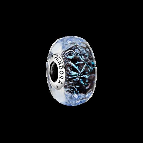 深藍 Murano 琉璃海洋串飾