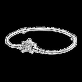 Pandora Moments 璀璨星形扣蛇形手鏈