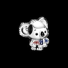 滑浪樹熊串飾