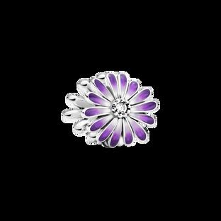Purple Daisy Charm