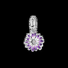 紫色雛菊吊飾
