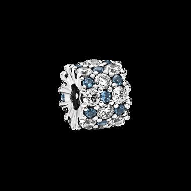 Blue& Clear Sparkle Charm