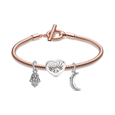 Magical Symbols Bracelet and Charm Set