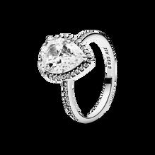 璀璨水滴光環戒指