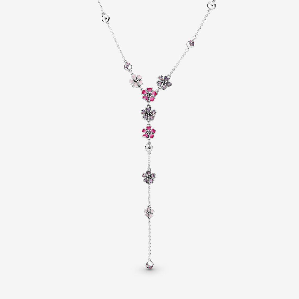 4. 粉紅桃花項鏈 HK$1,999.00