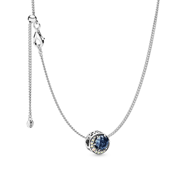 Moon & Night Sky Necklace Set
