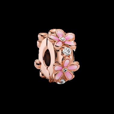 粉紅雛菊小串飾
