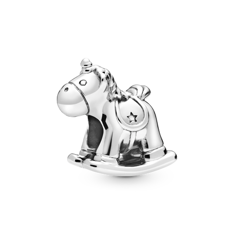 Bruno the Unicorn Rocking Horse Charm