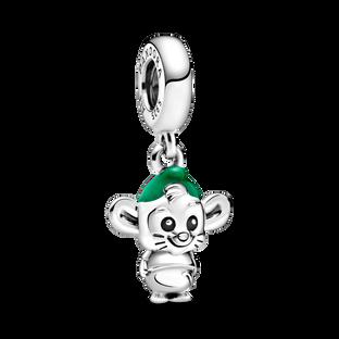 迪士尼《仙履奇緣》老鼠 Gus 吊飾