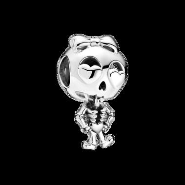 Skeleton Girl Charm