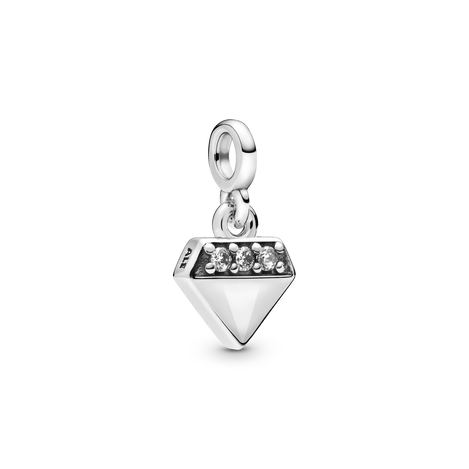 My Bright Diamond Dangle Charm