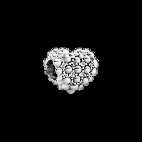 璀璨圓珠心形串飾
