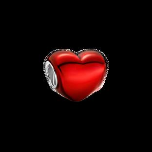 金屬紅心形串飾
