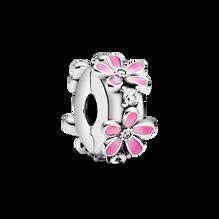 粉紅雛菊固定夾