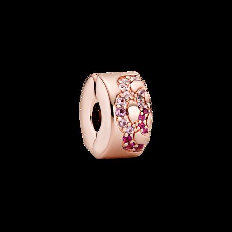 粉紅摺扇小串飾