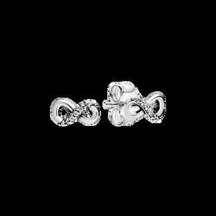無限璀璨針式耳環