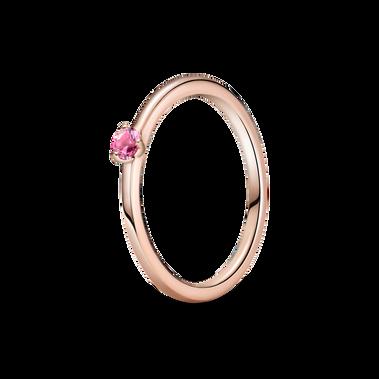 粉紅單石戒指