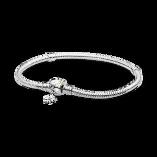 Pandora Moments 雛菊飾扣蛇形手鏈